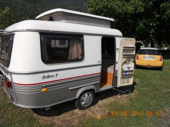 caravane eriba 2 places occasion auto sport. Black Bedroom Furniture Sets. Home Design Ideas