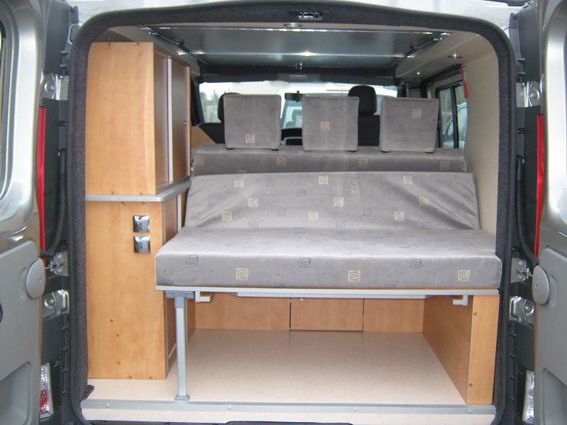 Occasion kit amenagement fourgon camping car auto sport for Amenagement interieur camping car