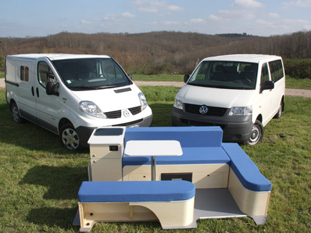 kit amenagement fourgon camping car auto sport. Black Bedroom Furniture Sets. Home Design Ideas