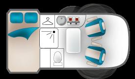 Camionnette Camping Auto Sport
